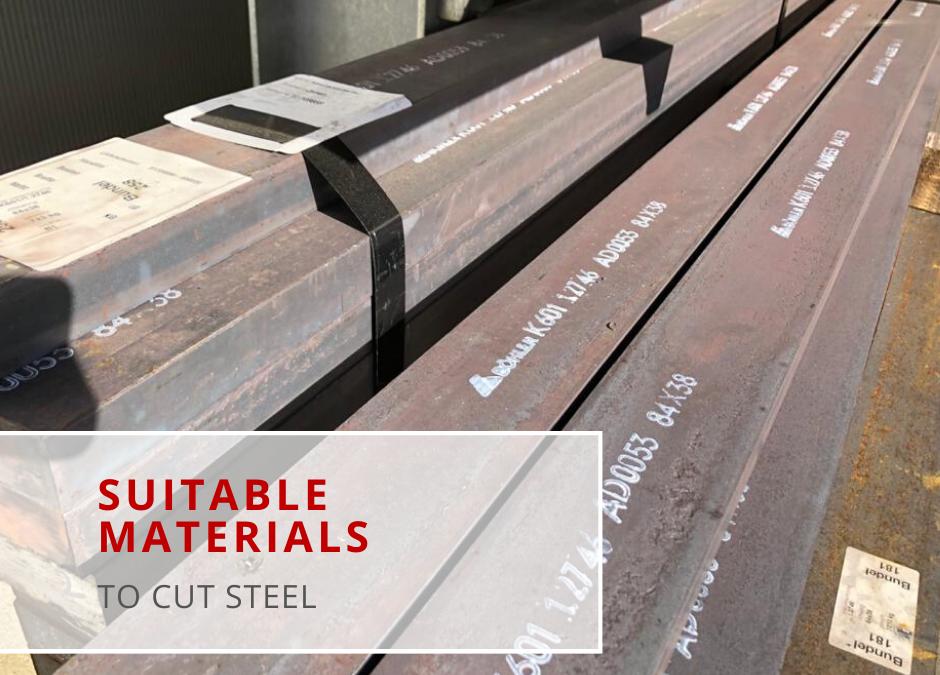 Materiaal voor het knippen van staal